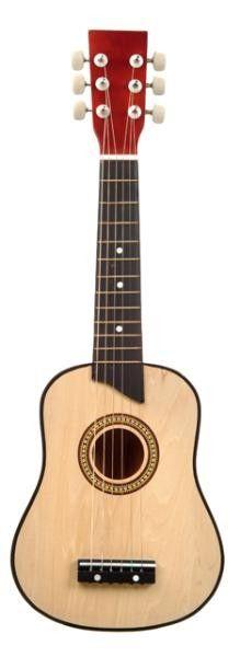 Chitara lemn 62 cm. - Lemn natur - New Classic Toys [0]