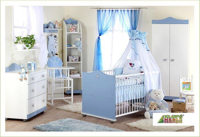 Comoda Copii de Infasat Klups - Prince Albastru 1