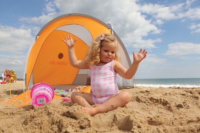 Cort pentru plaja compact UV 50 - LittleLife 3