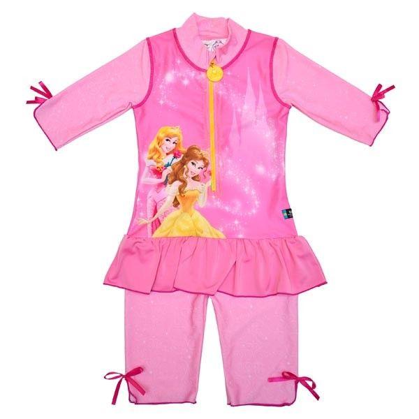 Costum de baie Princess marime 86-92 protectie UV Swimpy 0