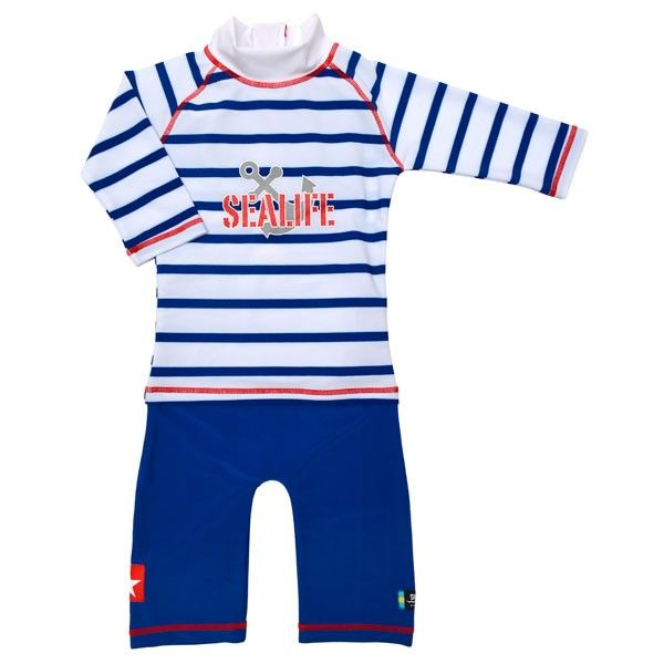 Costum de baie SeaLife blue marime 98- 104 protectie UV Swimpy 0