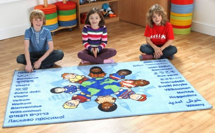 Covor Children of the World Welcome, interactiv si educational Kit for Kids [1]