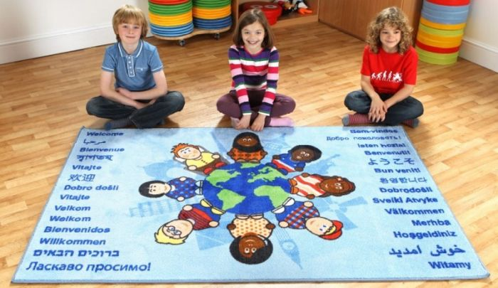 Covor Children of the World Welcome, interactiv si educational Kit for Kids [3]