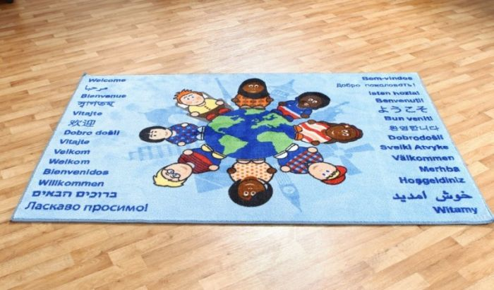 Covor Children of the World Welcome, interactiv si educational Kit for Kids [4]