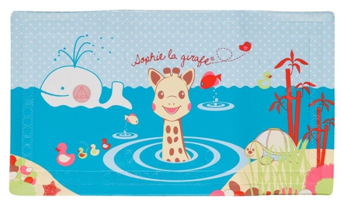 Covoras pentru cada cu indicator de temperatura Girafa Sophie 0