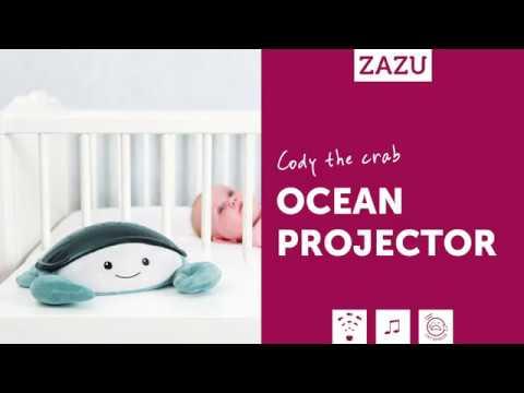 Crabul Cody - Proiector Muzical cu Valuri Miscatoare - Zazu Kids 2