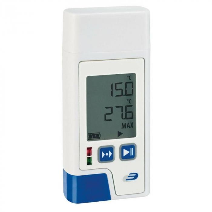 Data Logger profesional cu afisaj pentru temperatura si umiditate cu certificat de etalonare LOG210 PDF 3