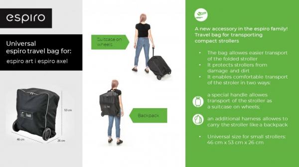 Espiro geanta pentru transport carucior Art si Axel [3]
