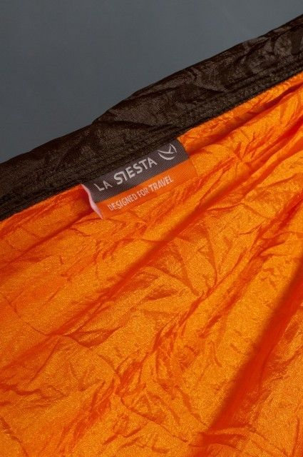 Hamac 1 pers Colibri Travel orange - La Siesta 4