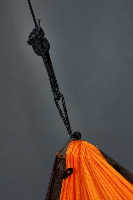 Hamac 1 pers Colibri Travel orange - La Siesta 5