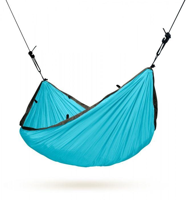 Hamac 1 persoana Colibri Travel, turquoise - La Siesta 0