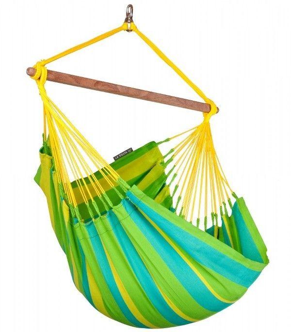 Hamac scaun Sonrisa Basic lime - La Siesta 2