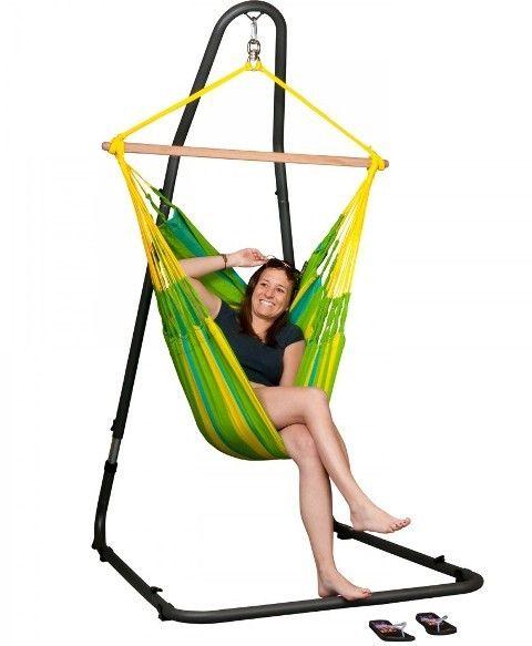 Hamac scaun Sonrisa Basic lime - La Siesta 8