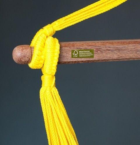 Hamac scaun Sonrisa Basic lime - La Siesta 12