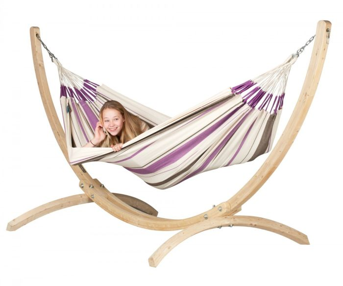 Hamac Single Caribena VIOLET - La Siesta 1