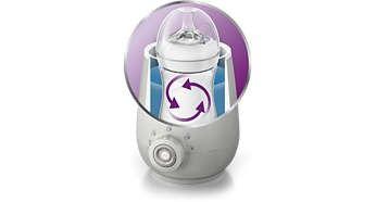 Incalzitor electric automat pentru biberoane - Philips Avent 5