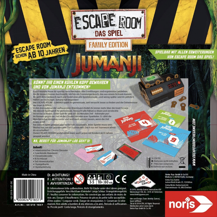 Joc Noris Escape Room Jumanji [10]