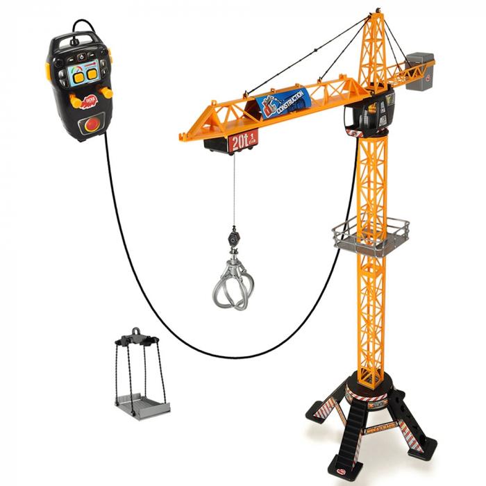Jucarie Dickie Toys Macara Mega Crane cu telecomanda [0]