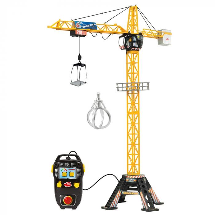 Jucarie Dickie Toys Macara Mega Crane cu telecomanda [2]