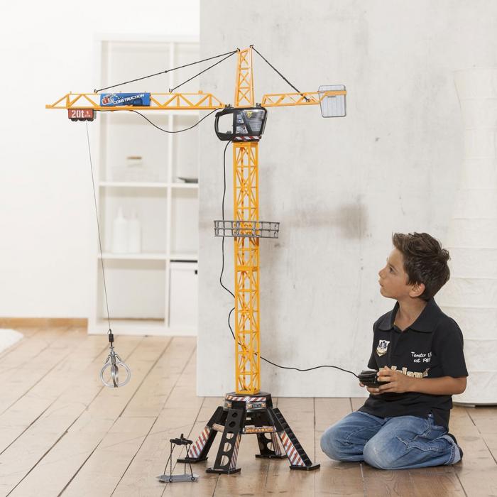 Jucarie Dickie Toys Macara Mega Crane cu telecomanda [4]