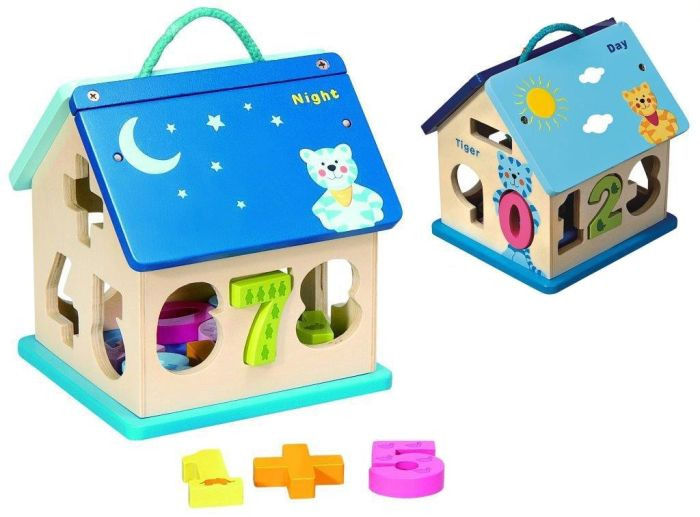 Jucarie educativa Casuta Day and Night - Baby Mix 0