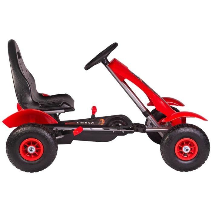 Kart cu pedale F618 Air rosu Kidscare 1