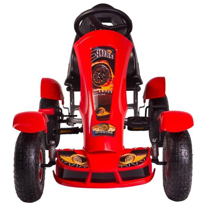 Kart cu pedale F618 Air rosu Kidscare 2