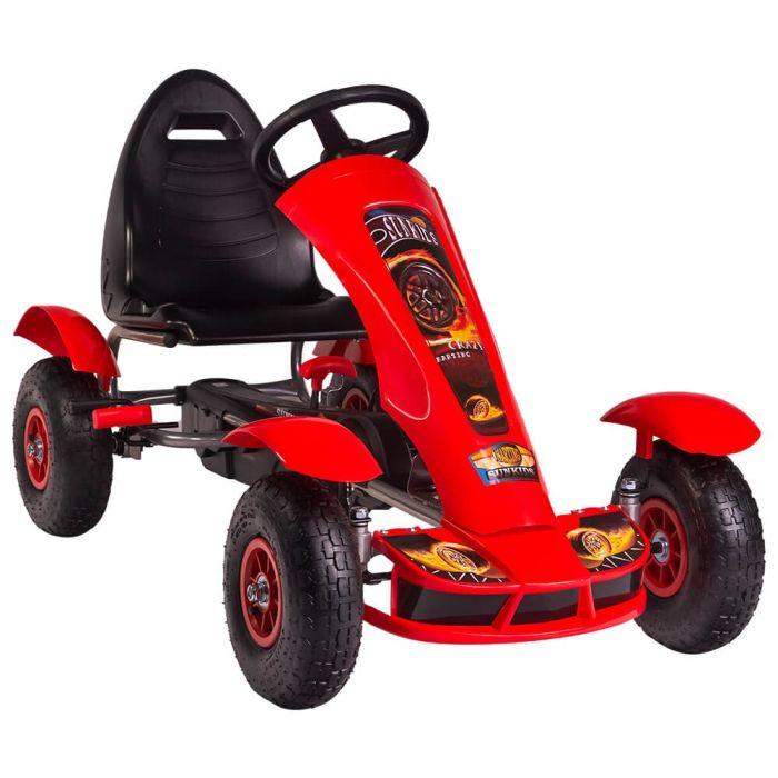 Kart cu pedale F618 Air rosu Kidscare 0