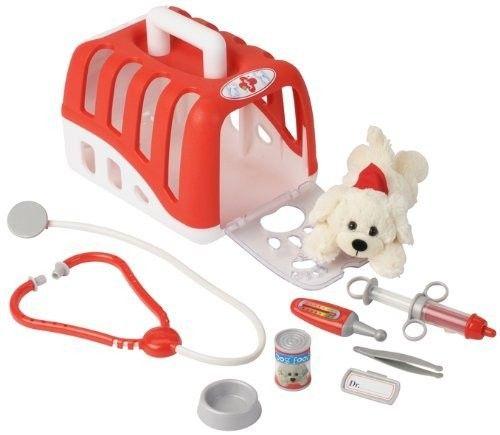 Kit veterinar cu catelus si accesorii - Klein 0