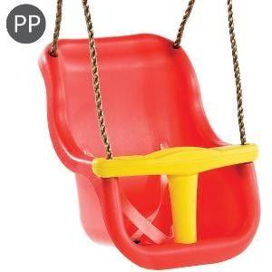 Leagan Baby Seat LUXE Culoare: Rosu/Galben, franghie: PP 10 [0]