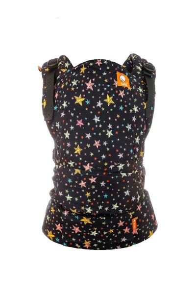 Marsupiu Half Buckle Rainbow Stars 3.2 - 20.4 kg - Baby Tula 3