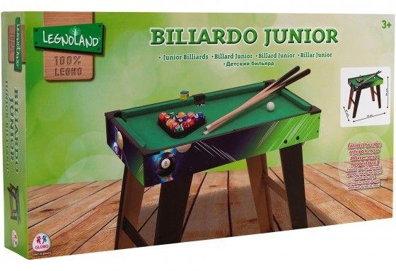 Masa biliard Globo pentru copii 70 cm din lemn 0