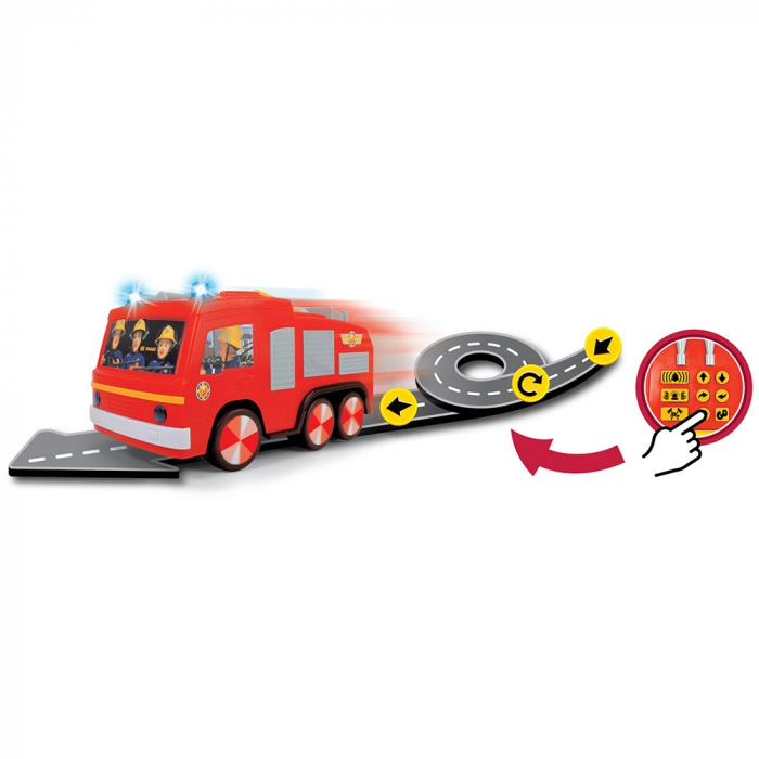 Masina de pompieri Dickie Toys Fireman Sam Super Tech Jupiter [2]