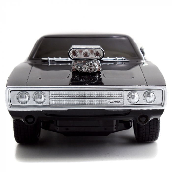 Masina Jada Toys Fast and Furious Dodge Charger 1970 cu telecomanda [1]