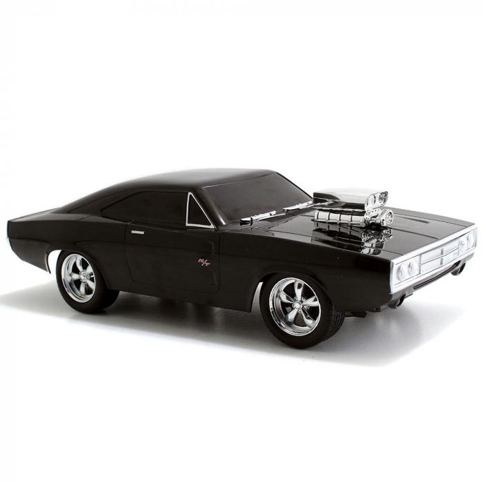 Masina Jada Toys Fast and Furious Dodge Charger 1970 cu telecomanda [2]