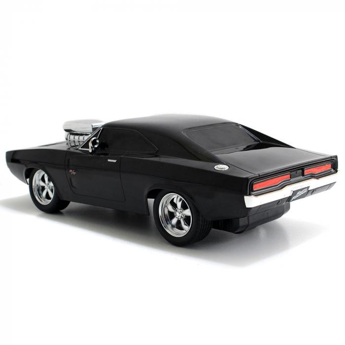 Masina Jada Toys Fast and Furious Dodge Charger 1970 cu telecomanda [6]