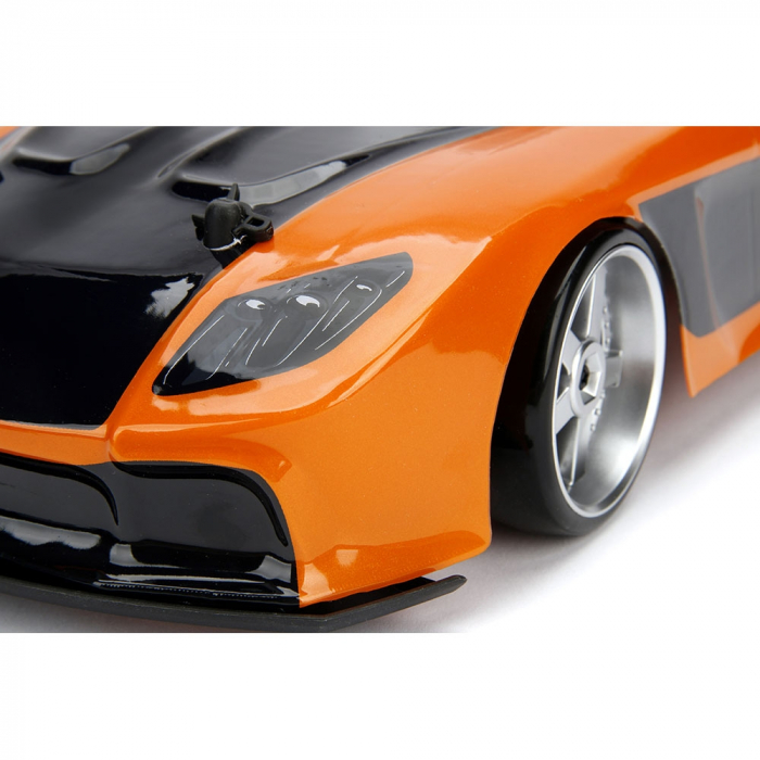 Masina Jada Toys Fast and Furious Mazda RX-7 Drift cu anvelope si telecomanda [11]