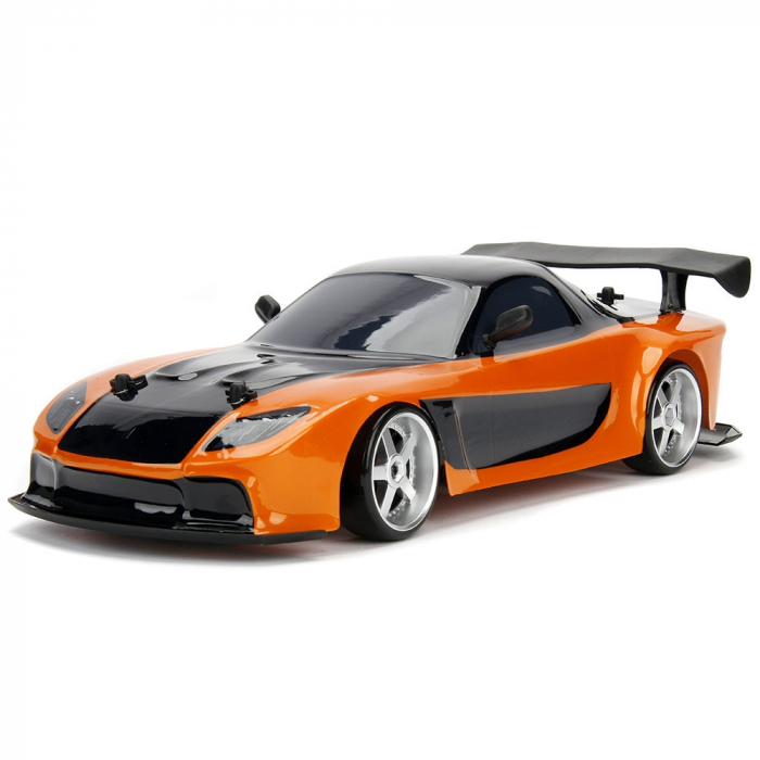 Masina Jada Toys Fast and Furious Mazda RX-7 Drift cu anvelope si telecomanda [1]