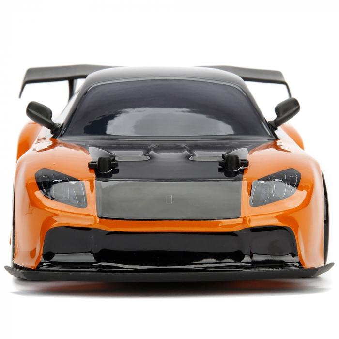 Masina Jada Toys Fast and Furious Mazda RX-7 Drift cu anvelope si telecomanda [2]
