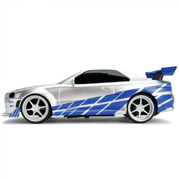 Masina Jada Toys Fast and Furious Nissan Skyline GTR cu telecomanda [3]