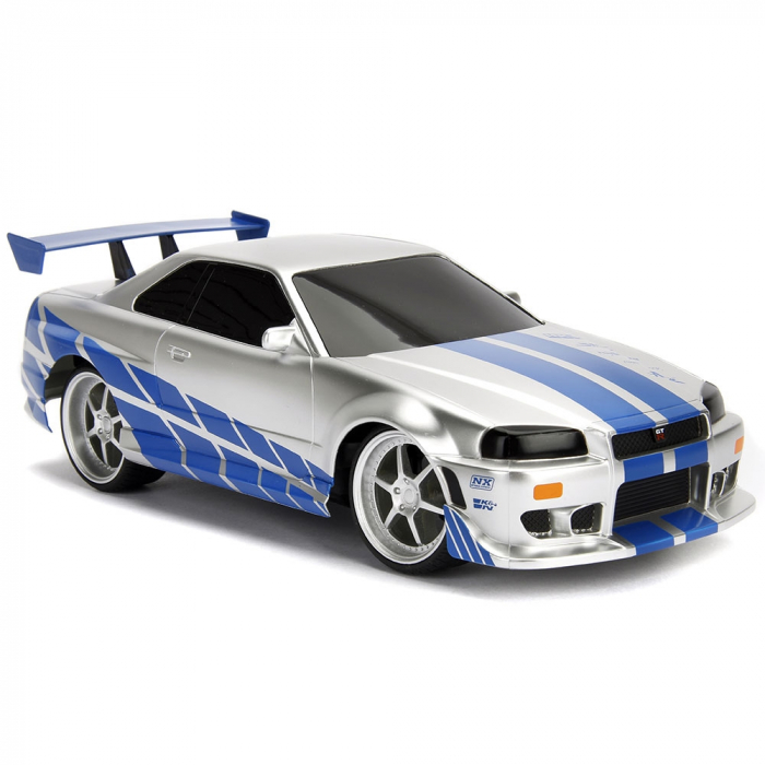 Masina Jada Toys Fast and Furious Nissan Skyline GTR cu telecomanda [6]