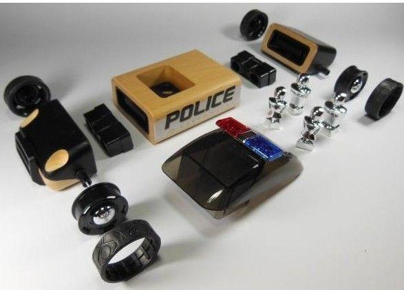 Masinuta de politie S9 - Automoblox 3