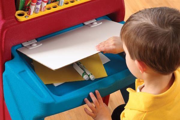 Masuta Art Easel Desk - Step2 3