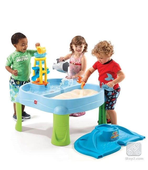 Masuta de joaca cu apa si nisip SPLASH N SCOOP BAY 0