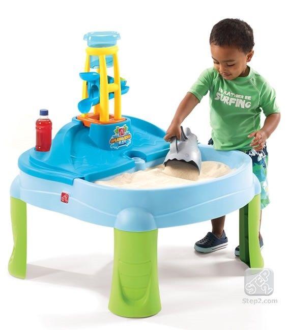 Masuta de joaca cu apa si nisip SPLASH N SCOOP BAY 1
