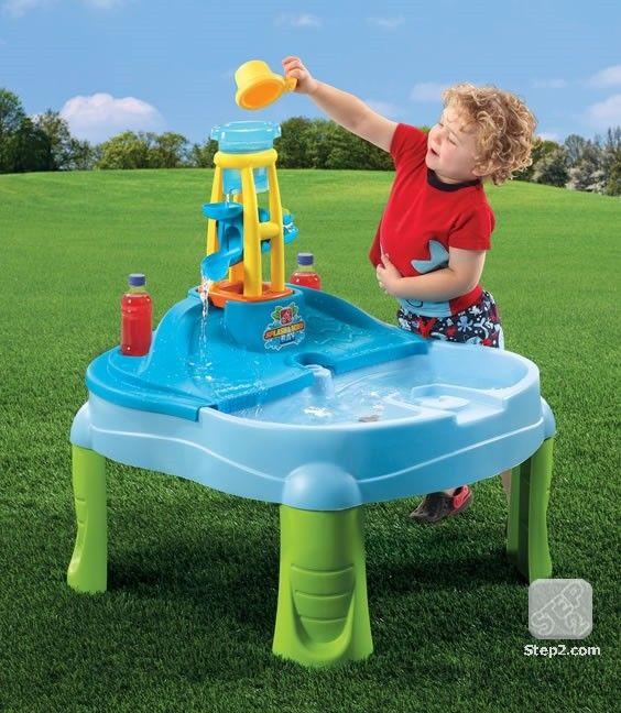 Masuta de joaca cu apa si nisip SPLASH N SCOOP BAY 2