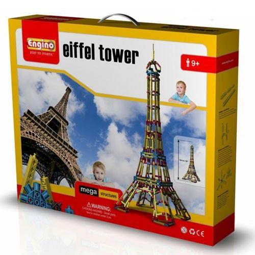 Mega structuri: Turnul Eiffel Engino 0