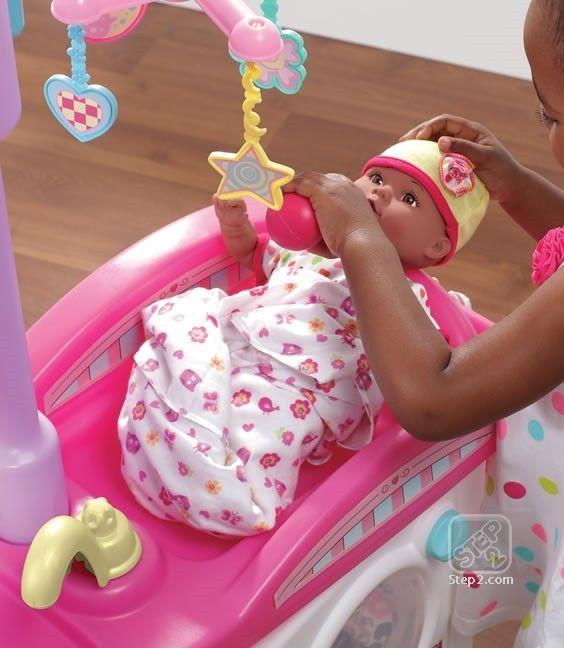 Mini cresa pentru copii NEW - Love & Care Deluxe Nursery [2]