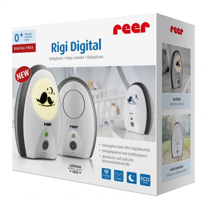 Monitor digital pentru bebelusi Rigi Digital Reer 50070 0