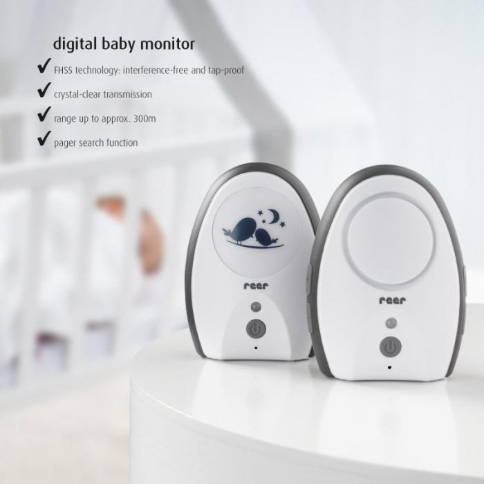 Monitor digital pentru bebelusi Rigi Digital Reer 50070 2